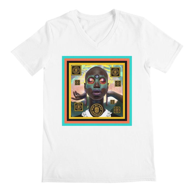 The Essential Elements Men's V-Neck by BigBlackBiscuit's Artist Shop