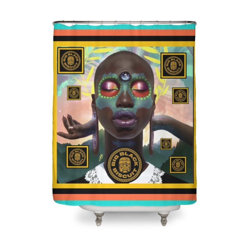 The Essential Elements Home Shower Curtain by BigBlackBiscuit's Artist Shop