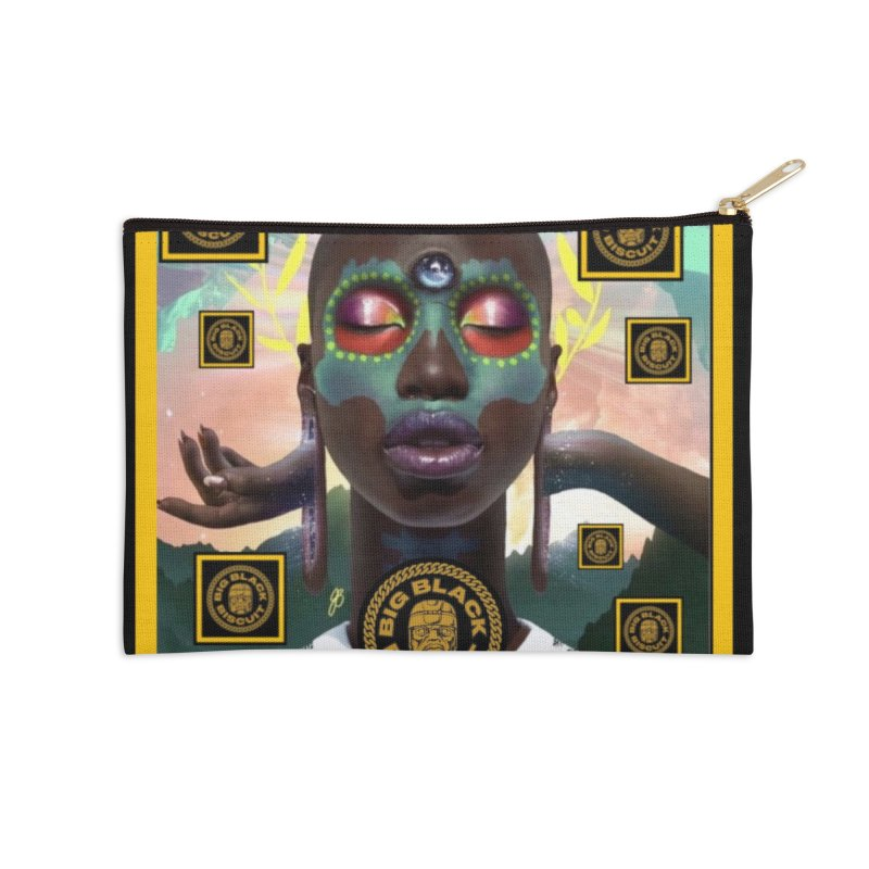 The Essential Elements Accessories Zip Pouch by BigBlackBiscuit's Artist Shop
