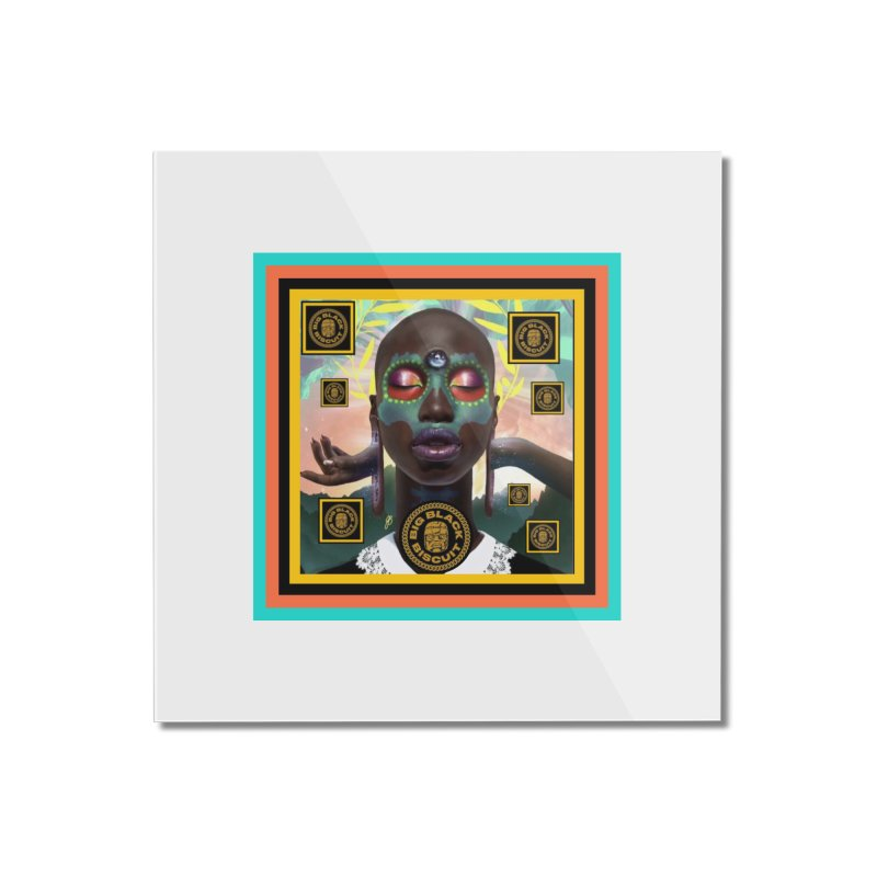 The Essential Elements Home Mounted Acrylic Print by BigBlackBiscuit's Artist Shop