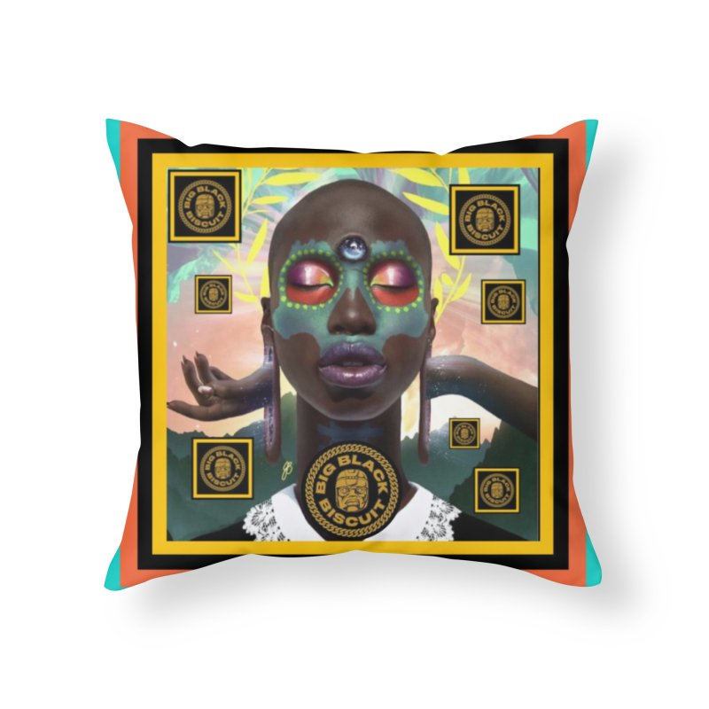 The Essential Elements Home Throw Pillow by BigBlackBiscuit's Artist Shop