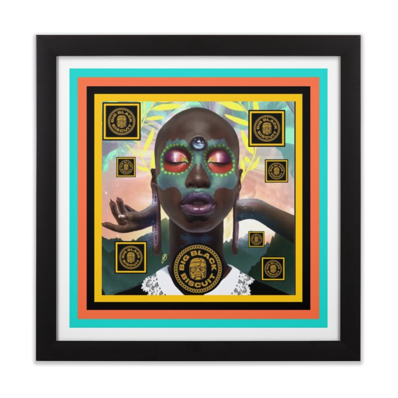 The Essential Elements Home Framed Fine Art Print by BigBlackBiscuit's Artist Shop