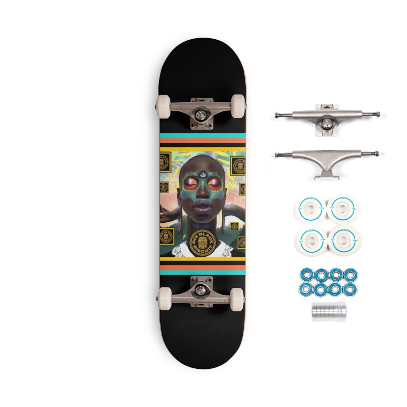 The Essential Elements Accessories Skateboard by BigBlackBiscuit's Artist Shop