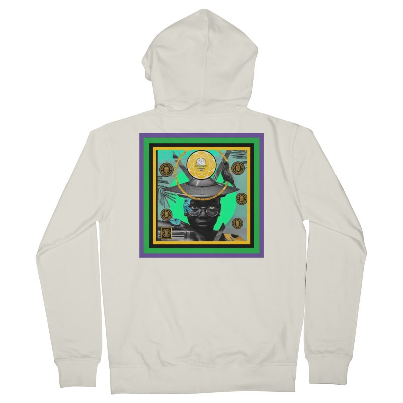 Subconsciously Reflecting Women's Zip-Up Hoody by BigBlackBiscuit's Artist Shop