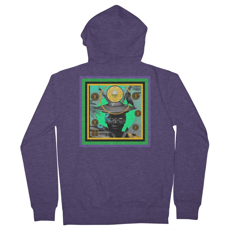 Subconsciously Reflecting Men's Zip-Up Hoody by BigBlackBiscuit's Artist Shop