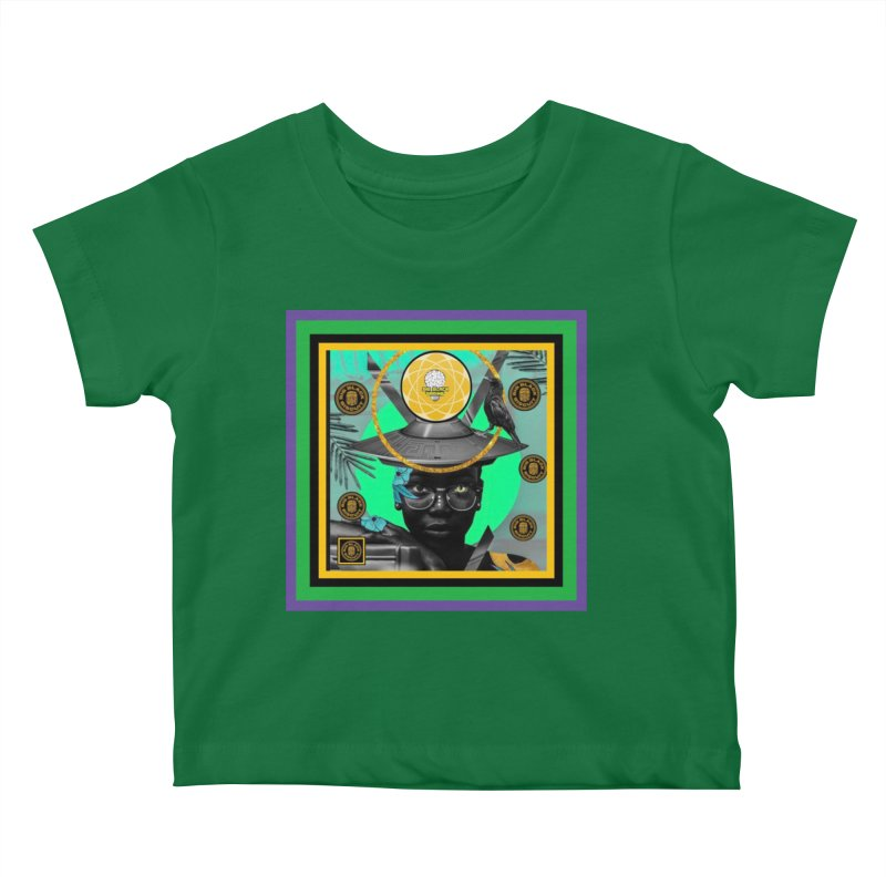 Subconsciously Reflecting Kids Baby T-Shirt by BigBlackBiscuit's Artist Shop