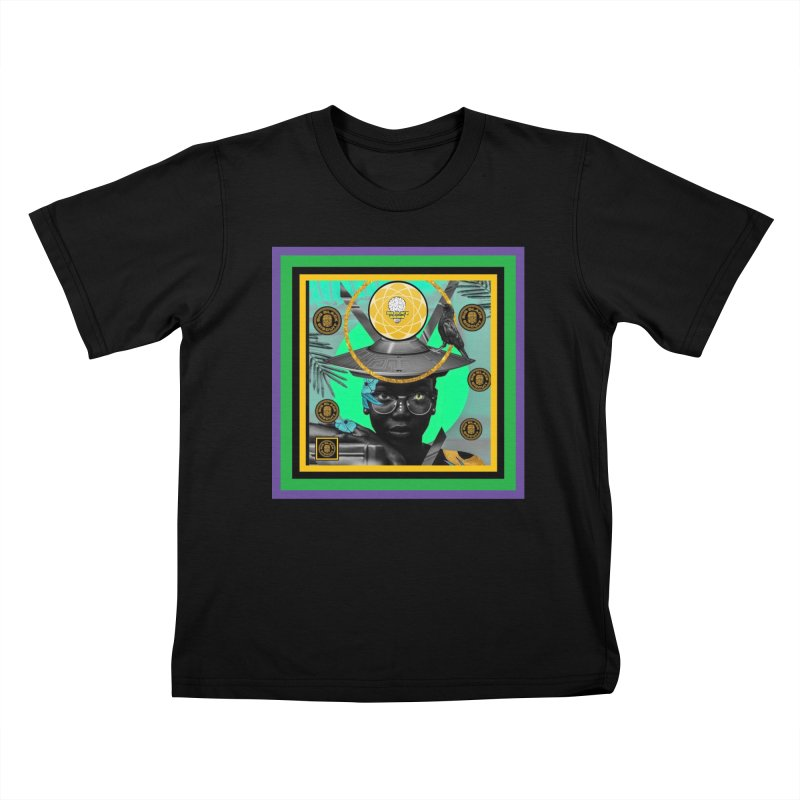 Subconsciously Reflecting Kids T-Shirt by BigBlackBiscuit's Artist Shop