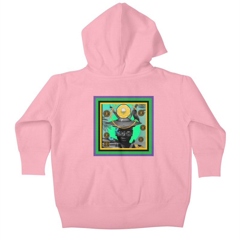 Subconsciously Reflecting Kids Baby Zip-Up Hoody by BigBlackBiscuit's Artist Shop