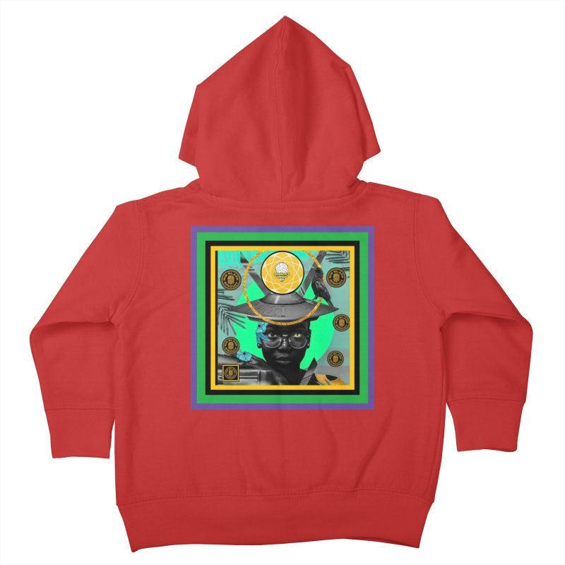 Subconsciously Reflecting Kids Toddler Zip-Up Hoody by BigBlackBiscuit's Artist Shop