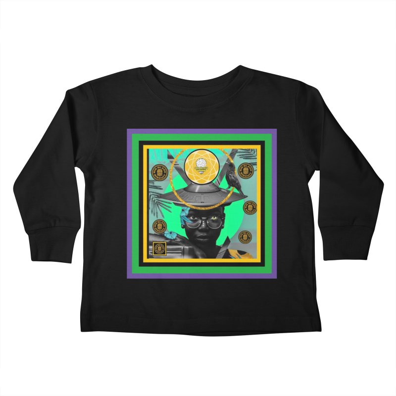 Subconsciously Reflecting Kids Toddler Longsleeve T-Shirt by BigBlackBiscuit's Artist Shop