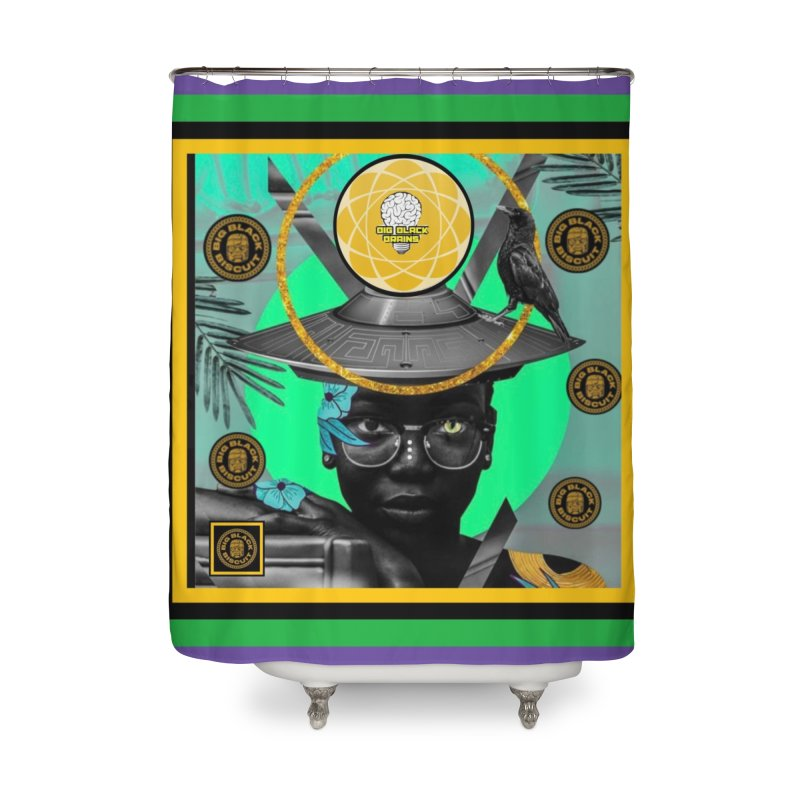 Subconsciously Reflecting Home Shower Curtain by BigBlackBiscuit's Artist Shop