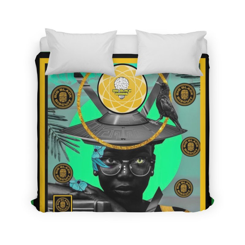 Subconsciously Reflecting Home Duvet by BigBlackBiscuit's Artist Shop