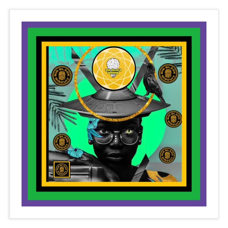 Subconsciously Reflecting Home Fine Art Print by BigBlackBiscuit's Artist Shop