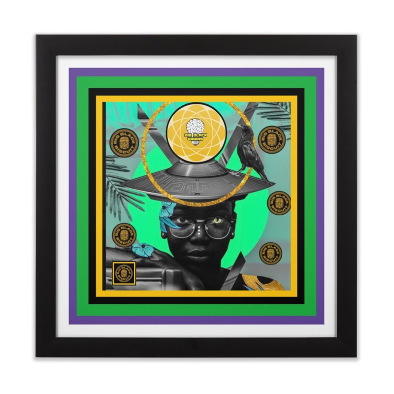 Subconsciously Reflecting Home Framed Fine Art Print by BigBlackBiscuit's Artist Shop