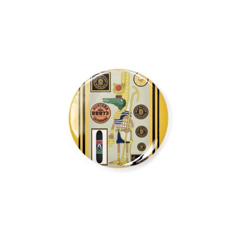 Sobek skate Symbiosis Accessories Button by BigBlackBiscuit's Artist Shop