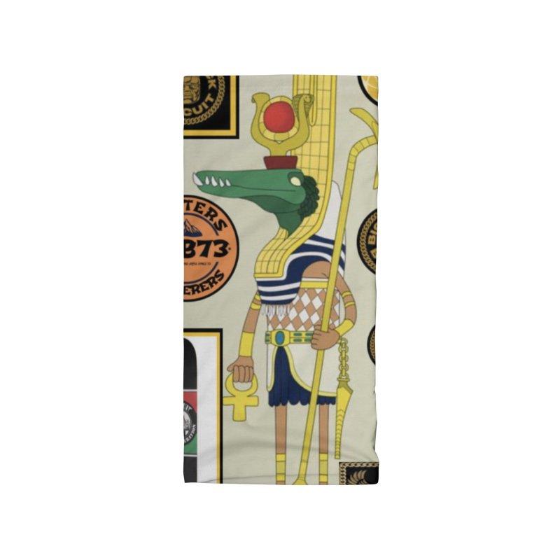 Sobek skate Symbiosis Accessories Neck Gaiter by BigBlackBiscuit's Artist Shop