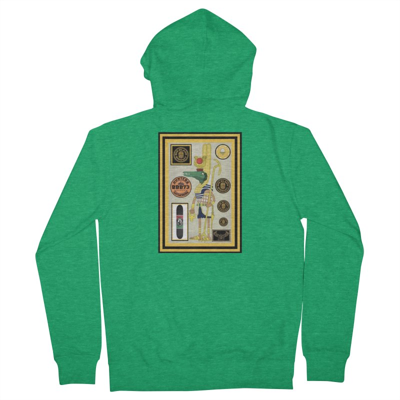 Sobek skate Symbiosis Women's Zip-Up Hoody by BigBlackBiscuit's Artist Shop