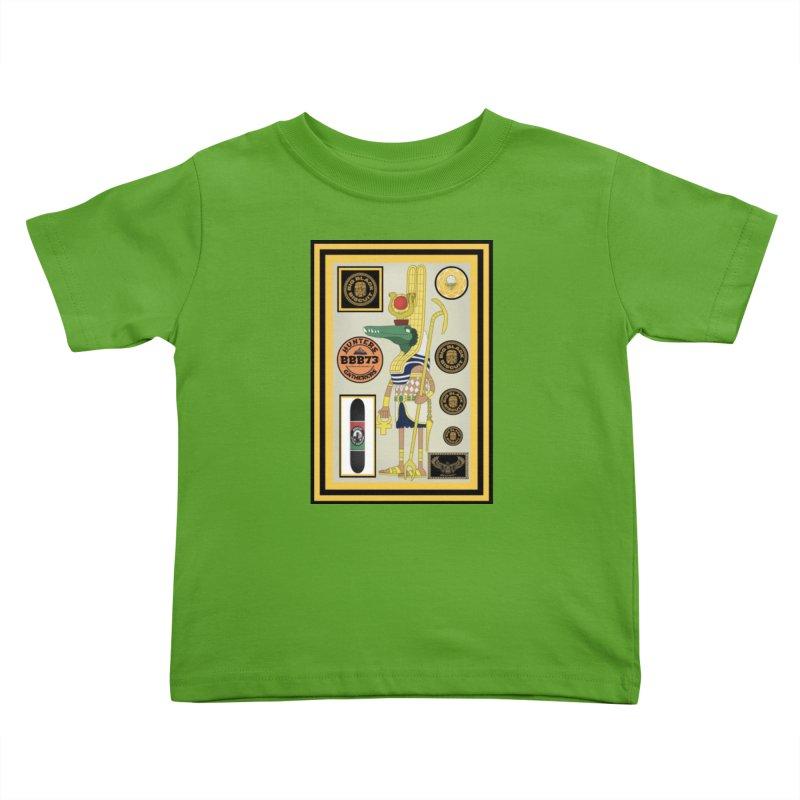 Sobek skate Symbiosis Kids Toddler T-Shirt by BigBlackBiscuit's Artist Shop