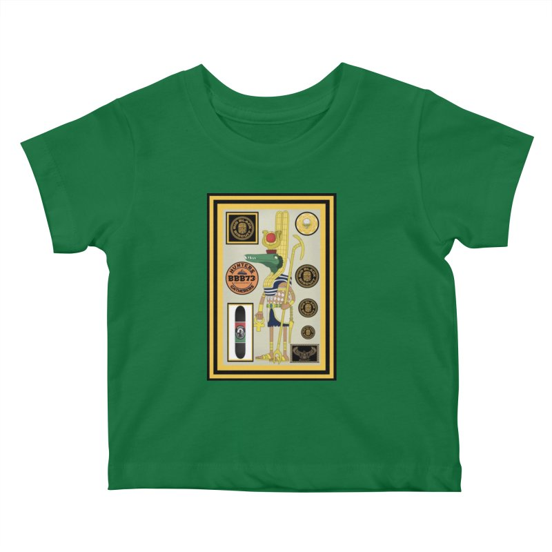 Sobek skate Symbiosis Kids Baby T-Shirt by BigBlackBiscuit's Artist Shop