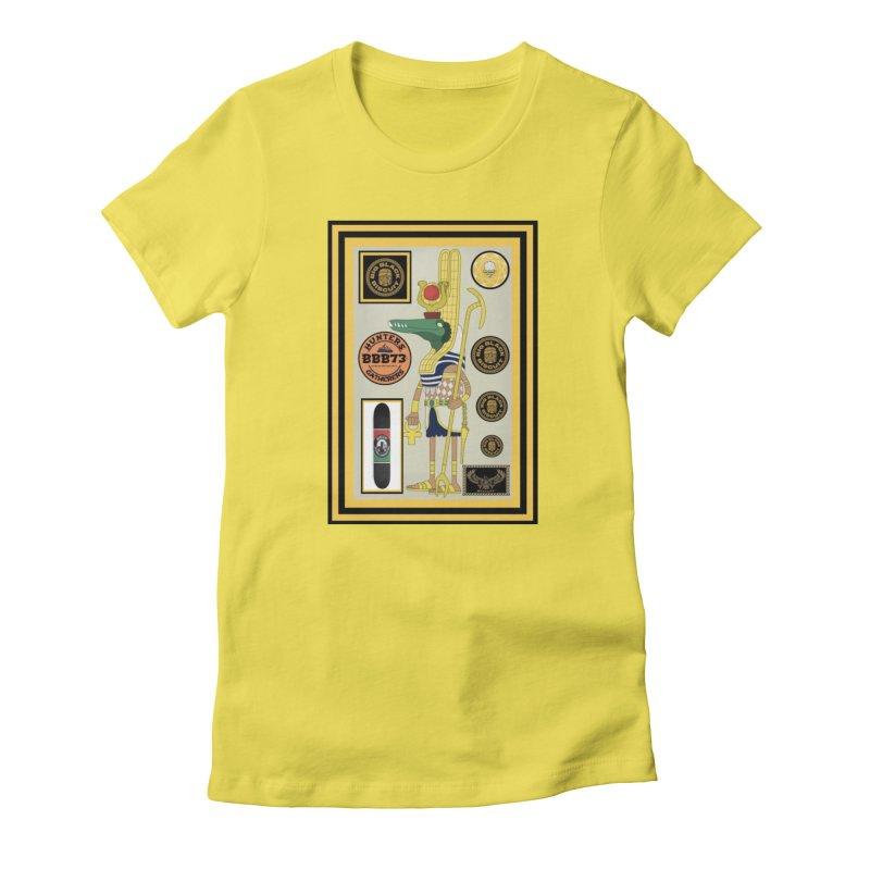 Sobek skate Symbiosis Women's T-Shirt by BigBlackBiscuit's Artist Shop