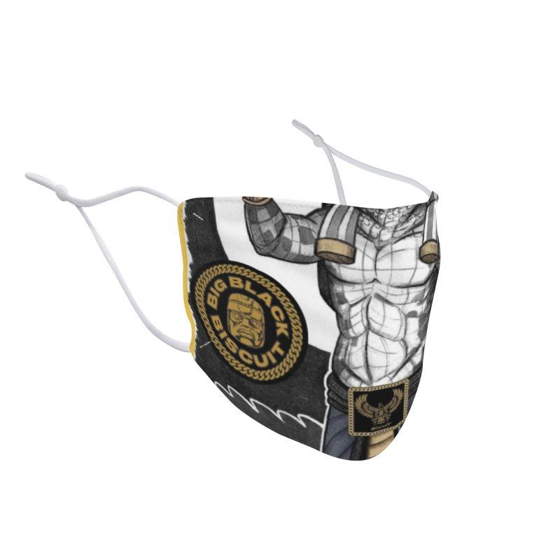 Slickback EL Accessories Face Mask by BigBlackBiscuit's Artist Shop