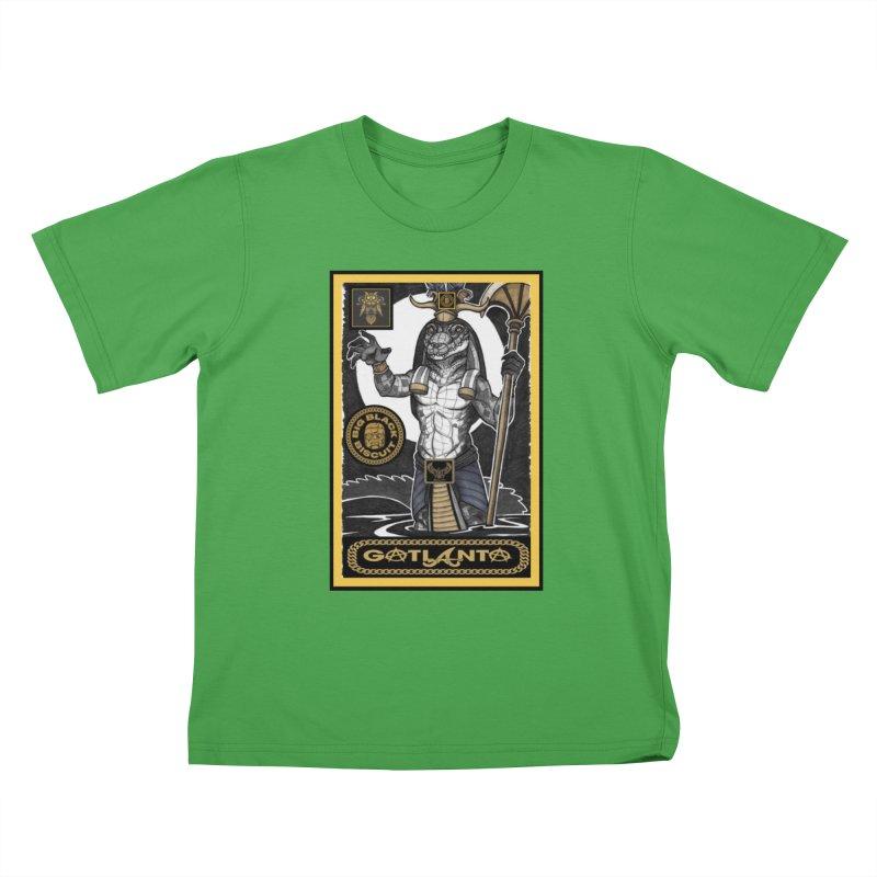 Slickback EL Kids T-Shirt by BigBlackBiscuit's Artist Shop
