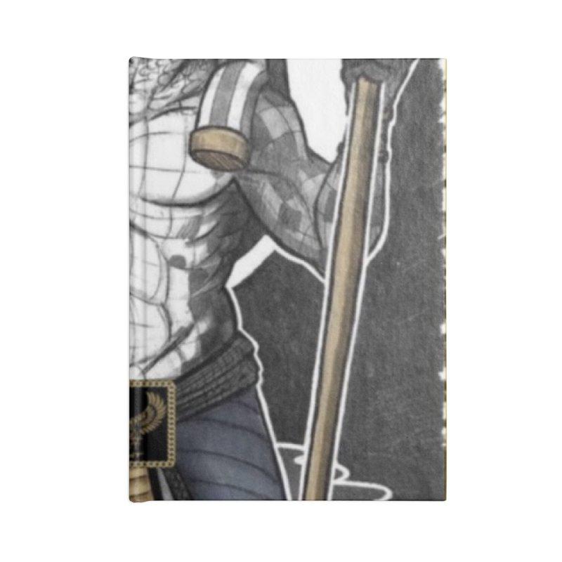 Slickback EL Accessories Notebook by BigBlackBiscuit's Artist Shop