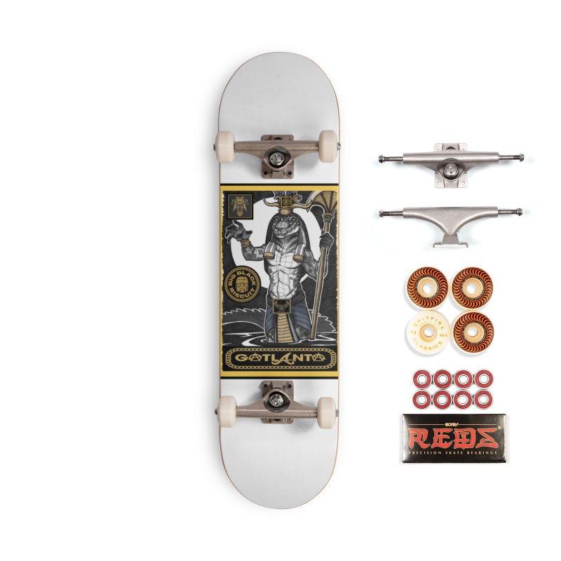 Slickback EL Accessories Skateboard by BigBlackBiscuit's Artist Shop