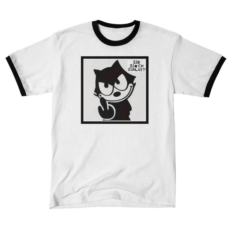 Roguish  Feline Women's T-Shirt by BigBlackBiscuit's Artist Shop