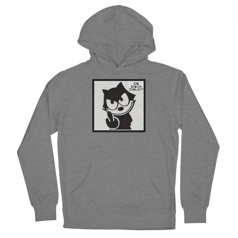 Roguish  Feline Women's Pullover Hoody by BigBlackBiscuit's Artist Shop