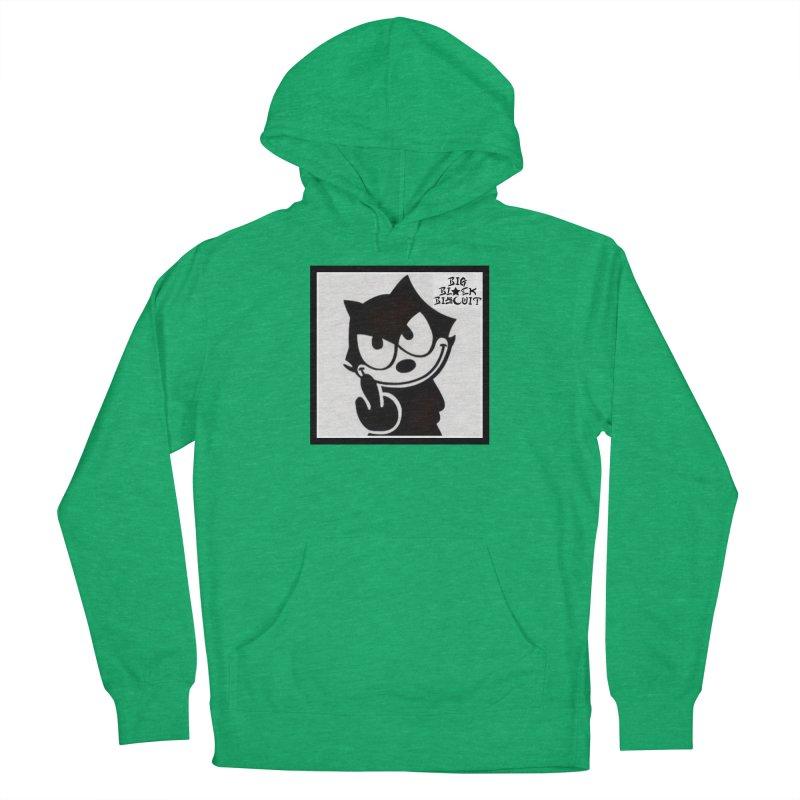 Roguish  Feline Men's Pullover Hoody by BigBlackBiscuit's Artist Shop