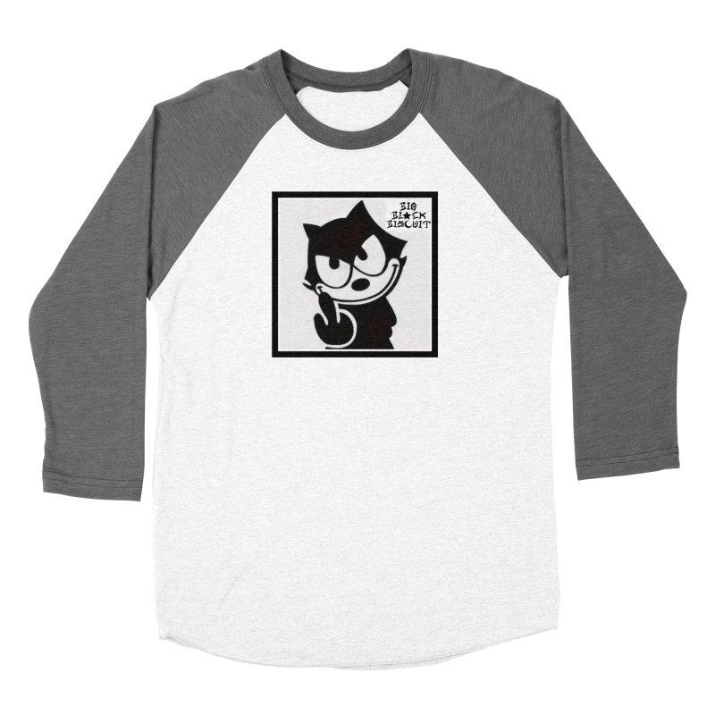 Roguish  Feline Women's Longsleeve T-Shirt by BigBlackBiscuit's Artist Shop