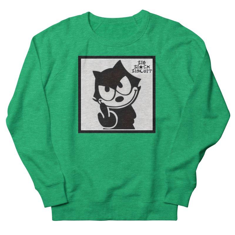 Roguish  Feline Women's Sweatshirt by BigBlackBiscuit's Artist Shop