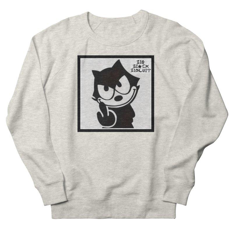 Roguish  Feline Men's Sweatshirt by BigBlackBiscuit's Artist Shop