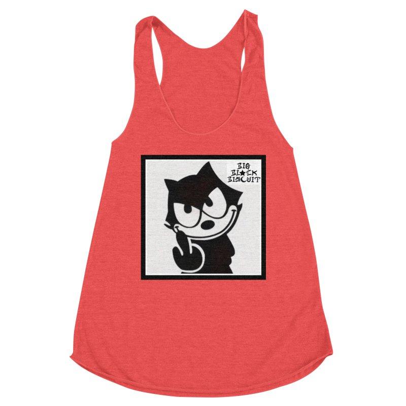 Roguish  Feline Women's Tank by BigBlackBiscuit's Artist Shop