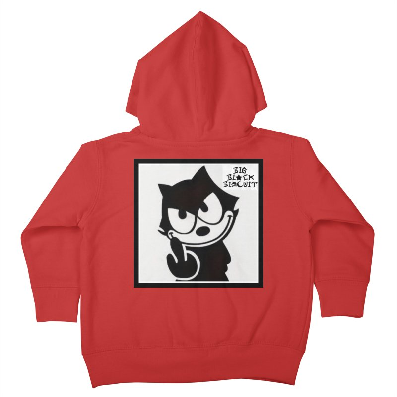 Roguish  Feline Kids Toddler Zip-Up Hoody by BigBlackBiscuit's Artist Shop