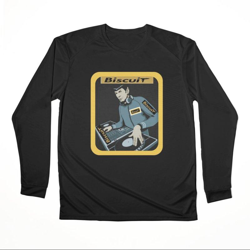 DJ Kling-On the Cutt Men's Longsleeve T-Shirt by BigBlackBiscuit's Artist Shop