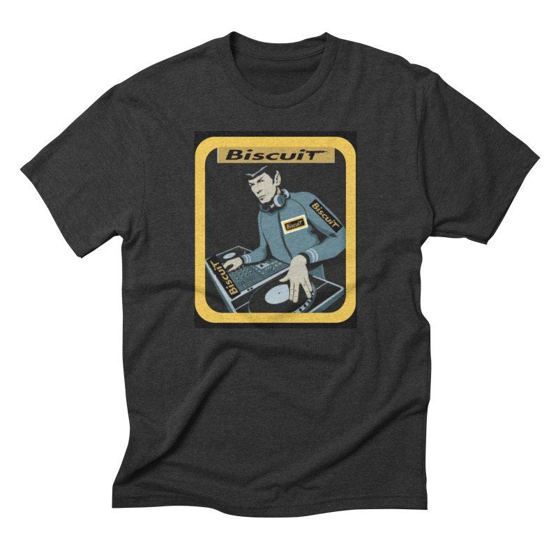 DJ Kling-On the Cutt Men's T-Shirt by BigBlackBiscuit's Artist Shop