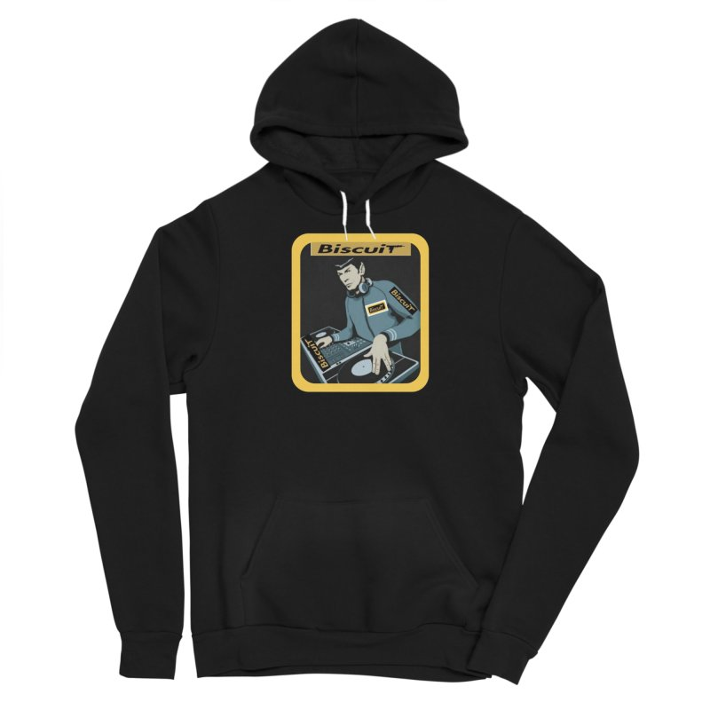 DJ Kling-On the Cutt Men's Pullover Hoody by BigBlackBiscuit's Artist Shop