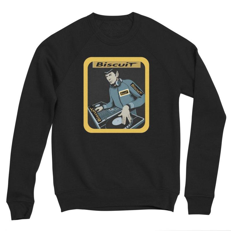 DJ Kling-On the Cutt Men's Sweatshirt by BigBlackBiscuit's Artist Shop