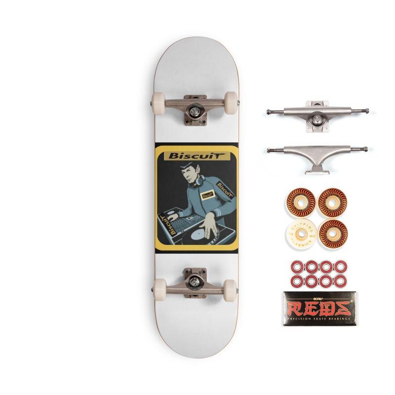 DJ Kling-On the Cutt Accessories Skateboard by BigBlackBiscuit's Artist Shop