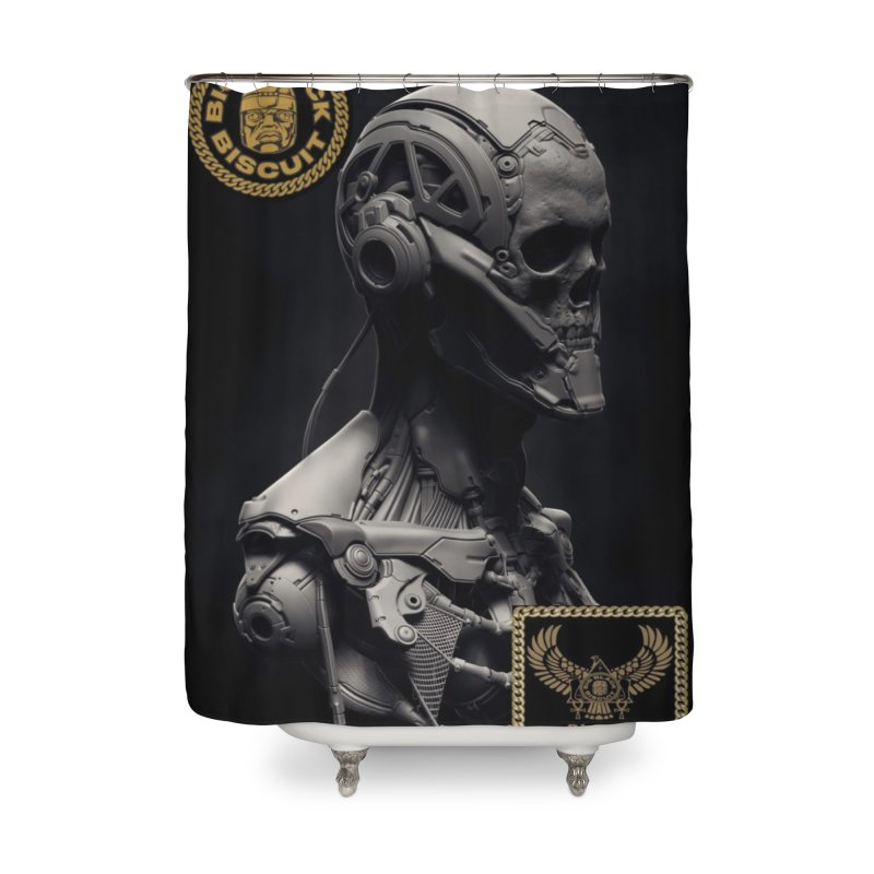Nebula experience Home Shower Curtain by BigBlackBiscuit's Artist Shop