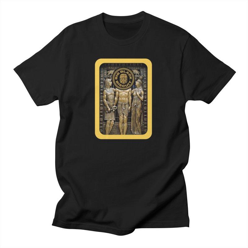 Stone Face Men's T-Shirt by BigBlackBiscuit's Artist Shop