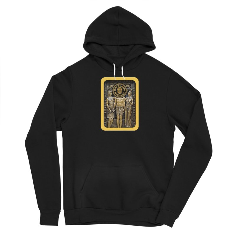 Stone Face Men's Pullover Hoody by BigBlackBiscuit's Artist Shop