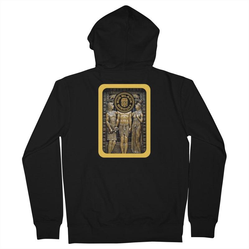 Stone Face Men's Zip-Up Hoody by BigBlackBiscuit's Artist Shop