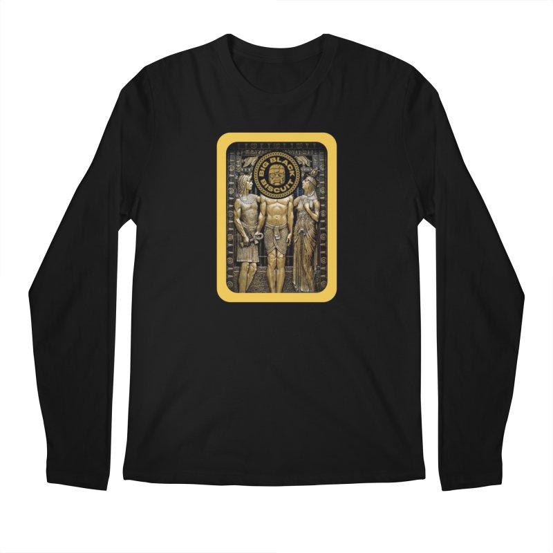 Stone Face Men's Longsleeve T-Shirt by BigBlackBiscuit's Artist Shop