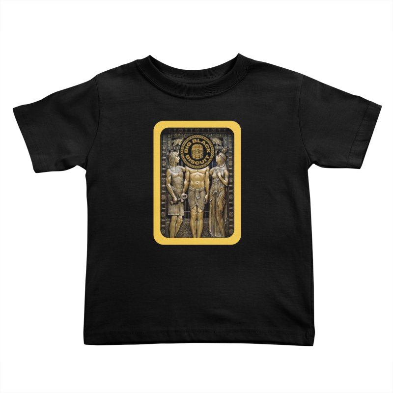Stone Face Kids Toddler T-Shirt by BigBlackBiscuit's Artist Shop