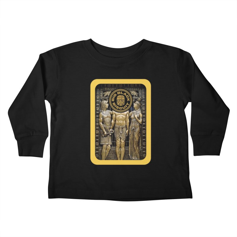 Stone Face Kids Toddler Longsleeve T-Shirt by BigBlackBiscuit's Artist Shop