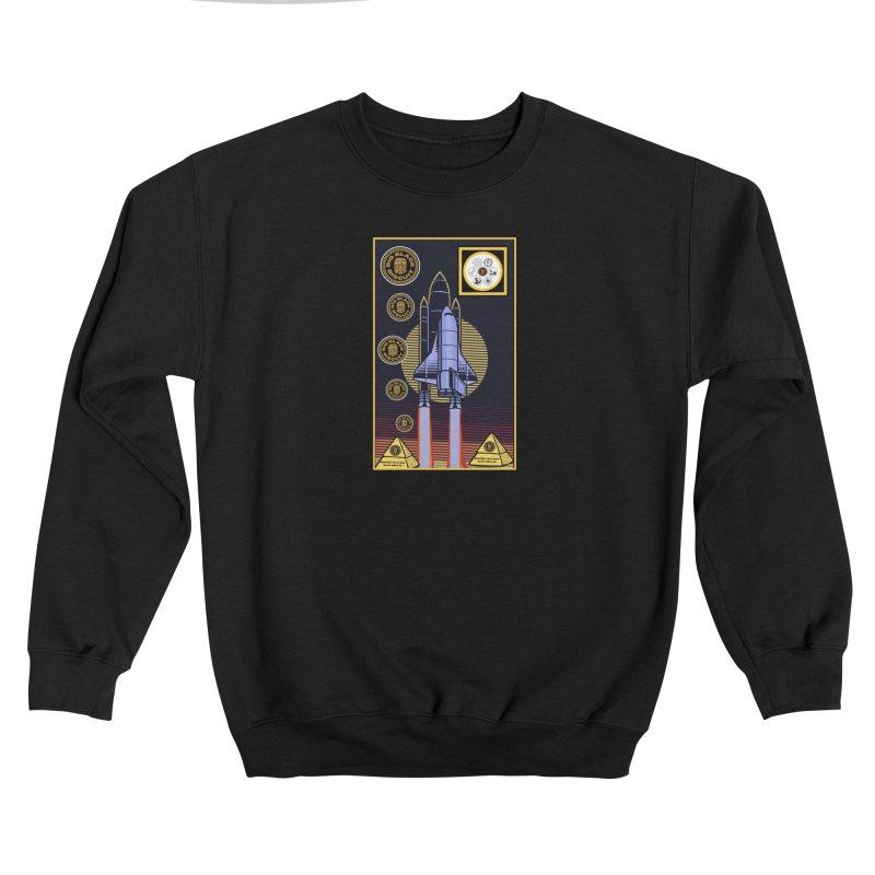 Analog  Lightship Men's Sweatshirt by BigBlackBiscuit's Artist Shop