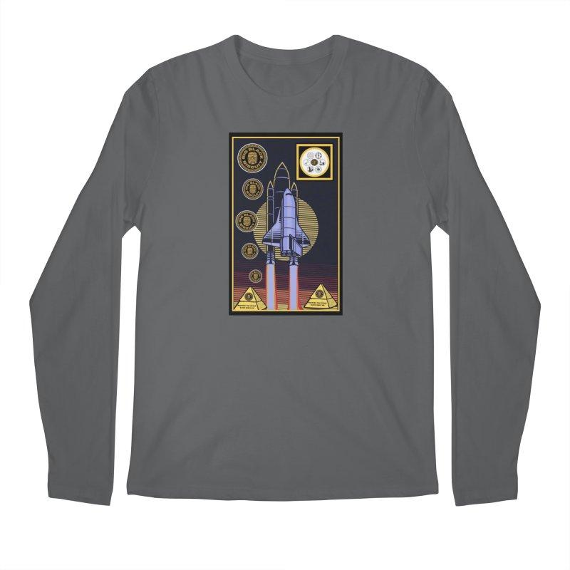 Analog  Lightship Men's Longsleeve T-Shirt by BigBlackBiscuit's Artist Shop